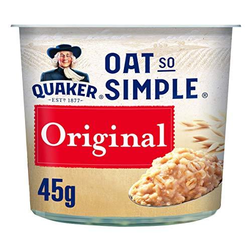Quaker Avena So Simple Ollas de gachas originales, 45 g (paquete de 8)