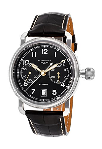 Longines Heritage Chronograph Leather Automatic Mens Watch L27834532