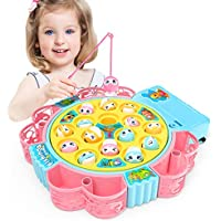 NARRIO Rotating Fishing Game with Music