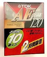 TDK オーディオカセットテープ AE 120分10巻パック [AE-120X10A] (AE-120X10A)