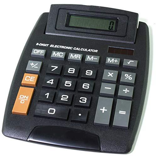 SIDCO Tischrechner XXL Digital Taschenrechner Rechenmaschine Solar Bürorechner groß