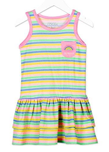Losan Kinder Mädchen Jerseykleid Gr.92-122 Sommerkleid Baumwolle neu!, Größe:122