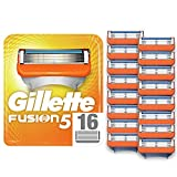 Gillette Fusion5 Razor Blades for Men with Precision Trimmer, Pack of 16 Refill Blades (Suitable for Mailbox)