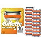 Gillette Fusion5 Maquinilla de Afeitar, x16, Paquete Apto para el Buzón de Correos