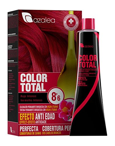 Azalea Color Total Tinte Tono 8.6 Rojo Intenso - 100 gr