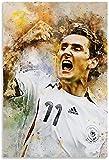 HuGuan Leinwand Druck Poster Miroslav Klose und Bild für