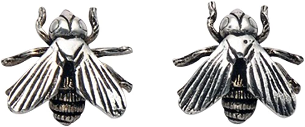 Sterling Silver San Antonio Mall House Fly Earrings Stud shopping