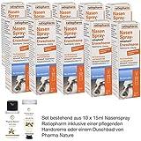 Nasenspray Ratiopharm 10 x 15 ml Sparset inkl. einer hochwertigen