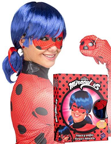 Ladybug pruik voor vrouw - Miraculous: Tales of Ladybug & Cat Noir