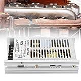 Jadpes Chargeur de Batterie de générateur, Chargeur Diesel de générateur 12v, Module de Charge de Batterie de Caisse en Aluminium de Chargeur de Batterie de générateur 12V
