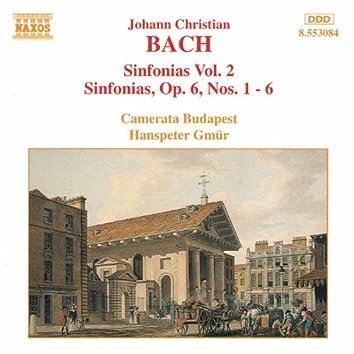 BACH, J.C.: Sinfonias, Vol.  2