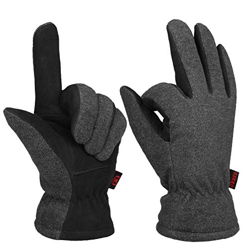 Winter Driving Skiing Working Gloves For Men & Women Warm Thermal Protection