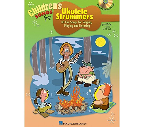 Hal Leonard Children's Songs For Ukulele Strummers Book/CD