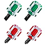 4 unids mini destornillador de mango intercambiable 2 en 1 destornillador mini máquina de coser destornillador para bricolaje reparación