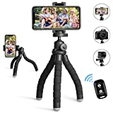 Best Tripods For IPhones - UBeesize Phone Tripod,Portable and Flexible Tripod with Wireless Review