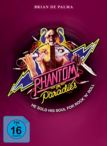 BD im Paradies Phantom of The Paradise Mediabook BlurayDVD VA [Blu-Ray] [Import]