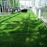 Settoo 1 * 2M Outdoor Teppich Indoor Teppich Kunstrasen Teppich Balkon Terrasse Garten KindergartenTeppich