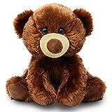 Fluffuns Teddy Bear Stuffed Animal - Teddy Bears Stuffed Animals 9 Inch Stuffed Bear (Brown)