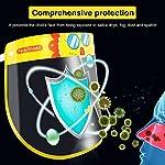 Pantallas Protectoras Faciales Niños, LETOUR 4 pcs Lindo Animal Pattern Protector Facial Niños, adec... #1