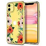 Spigen Cyrill Ciel Cecile Series Case for iPhone 11 (Orange Floral) i phone bumper Mar, 2021