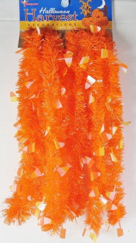 Young Craft Harvest Halloween Garland Candy Corn Decoration15 Feet