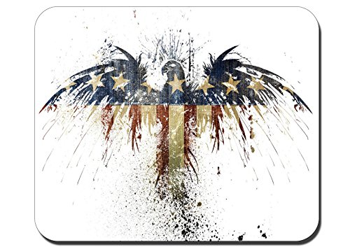 Eagle Flag Gaming MousePads Anti-Slip Personalized Rectangle Mouse Pad Size:9.4' x7.9' RB214