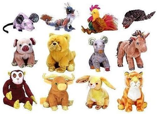 distribución global TY Beanie Babies Babies Babies - ZODIAC BEANIES SET ( Complete Set - ALL 12 Pieces ) by N A  precios bajos todos los dias