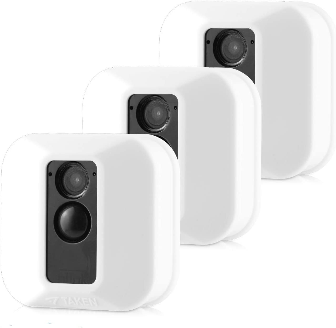 Silicone Covers Skins for Blink XT/XT2 Security Camera,Silicon Case for Blinks Home Security - Anti-Scretch Protective for Full Protection - Indoor Outdoor Best Home Accessories (3 Pack White)
