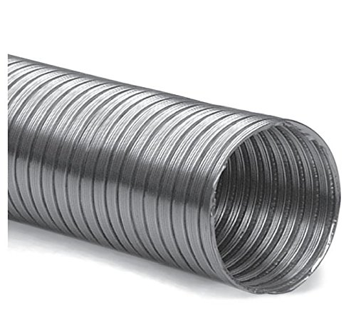 Alu-Flexrohr Lüftungsrohr Flexschlauch Alurohr Alle Größen DN 100 mm Länge 3 m