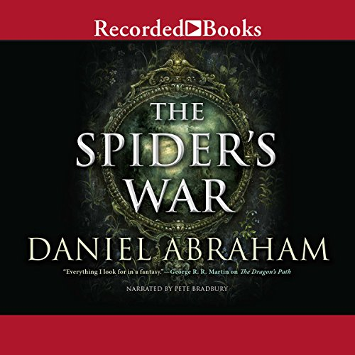 The Spider's War audiobook cover art