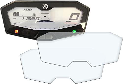 Protection d'écran ultra-transparente pour tableau de bord/groupe d'instruments de Yamaha MT-07, FZ-07, 700