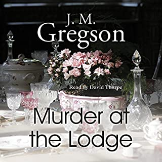 Murder at the Lodge cover art
