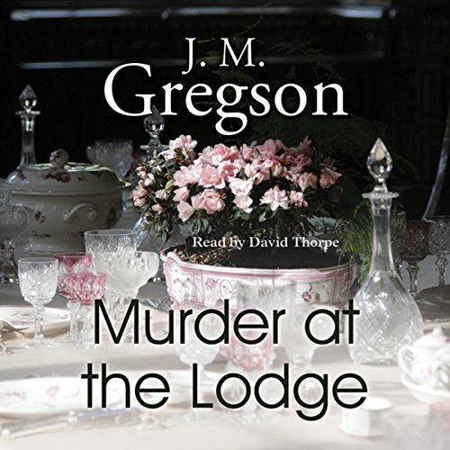 Murder at the Lodge audiobook cover art
