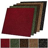 Floori Teppichfliesen Jazz Set - Beige - Premiumklasse (2,5kg/m², antistatisch, bitum)