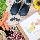 Coffret Cadeau de Jardinage pour Enfants // Box de Légumes Mon Premier Potager