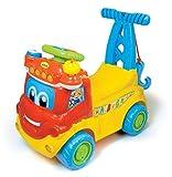 Baby Clementoni - MAX, camión Educativo 4 en 1, Juguete con Sonido (651405)