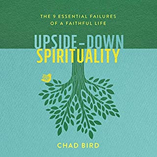 Upside-Down Spirituality audiobook cover art