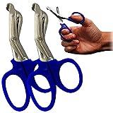 Twin-Set surgimax Qualität Mini 11,5cm robust Kut Paramedic Krankenschwestern Schere Blau -