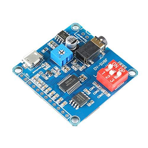 SHURROW Mini DY-SV8F MP3-Musik-Player Sprachwiedergabemodul-Karte Serielle...