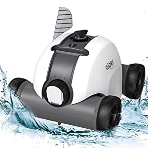 【Large Battery Capacity】A Large 5000mAh powerful lithium battery offers up to 60-90 minutes of non-stop cleaning after charging 4-6 hours. This innovative robotic pool cleaner is designed for in-ground and above ground swimming pool with flat-floor u...