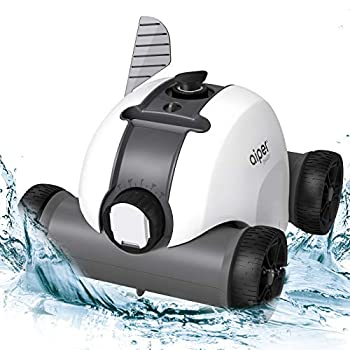 AIPER SMART Cordless Automatic Pool Cleaner Rechargeable Robotic Pool Cleaner with Up to 90 Mins Run Time IPX8 Waterproof Ideal for In-ground/Above Ground Swimming Pools Up to 861 Sq Ft