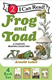 Frog and Toad: A Complete Reading Collection: Frog and Toad Are Friends, Frog and Toad Together, Days with Frog and Toad, Frog and Toad All Year (I Can Read Level 2)
