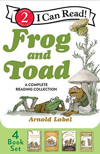 Frog and Toad: A Complete Reading Collection: Frog and Toad Are Friends, Frog and Toad Together, Days with Frog and Toad, Frog and Toad All Year (I Can Read Level 2) -  Lobel, Arnold, Illustrated, Paperback