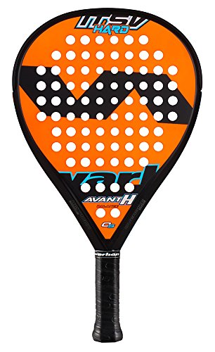 VARLION Avant H ITsV Hard Raquette de Tennis Unisexe Adulte, PALAS-1614310, Orange/Bleu, 335 GR