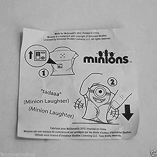 Qiyun McDonalds 2015 Minions Talking Minion Vampire 11 Happy Meal USA Release New