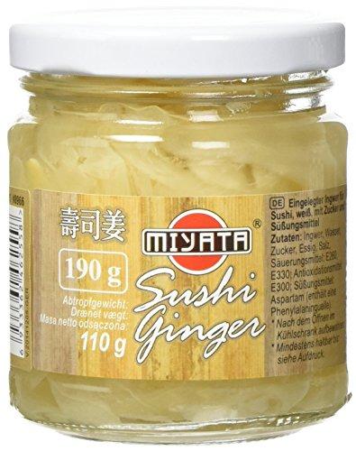 Miyata Ingwer für Sushi (1 x 190 g)