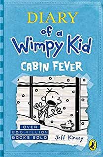 Diary of a Wimpy Kid - 6: Cabin Fever by Jeff Kinney
