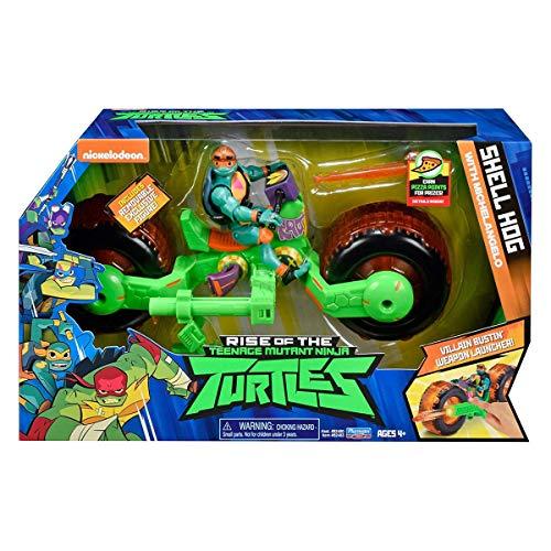 Rise of the Teenage Mutant Ninja Turtles 82483 ROTMNT-Motorrad - Figura de acción de Mikey Giant