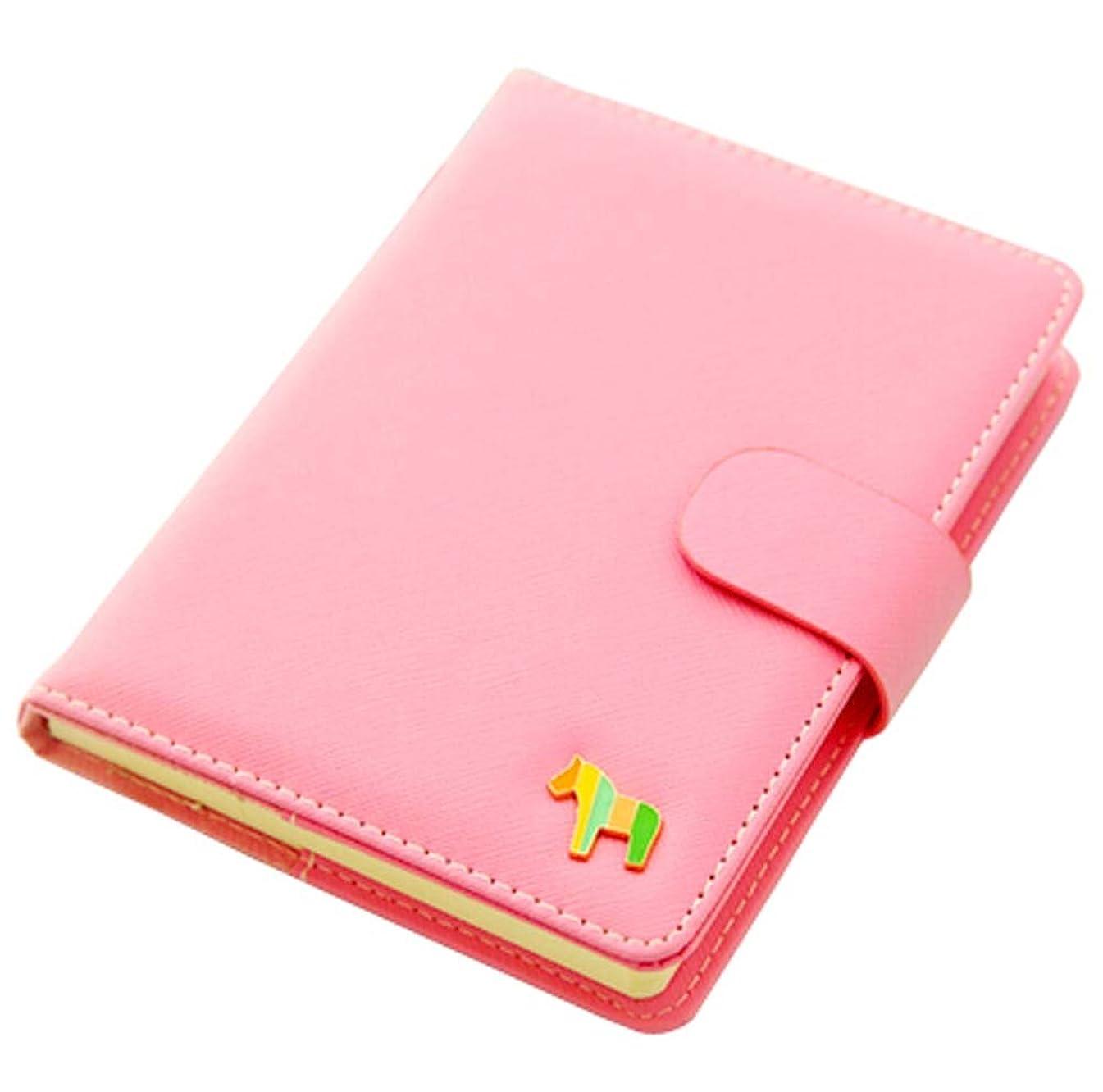バイバイローブ連結するピンクノートブックポータブルオフィスミニポケットポータブルスケジュール手帳