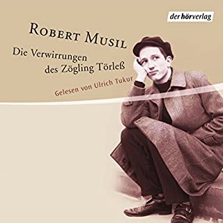 Die Verwirrungen des Zöglings Törleß                   By:                                                                                                                                 Robert Musil                               Narrated by:                                                                                                                                 Ulrich Tukur                      Length: 5 hrs and 47 mins     Not rated yet     Overall 0.0